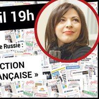 Mardi du Courrier de Russie 30 avec Inna Doulkina