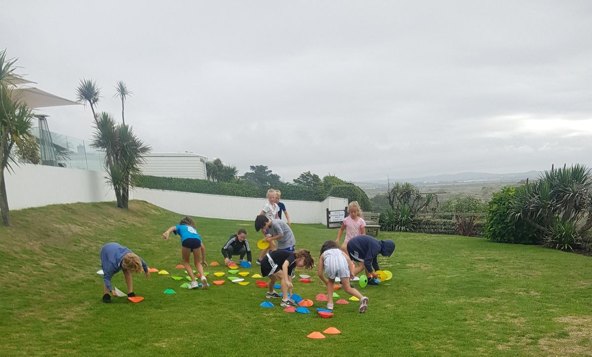Half term kids fitness morning