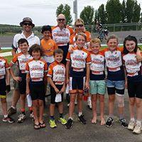 Ron Boulton Cycles - Orange Track Open