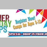 Summer Arts Day Camp - Life at Sea July 24  July 28