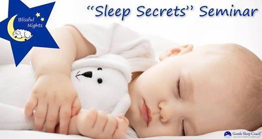 Sleep Secrets Seminar (Newborn - 3 years)
