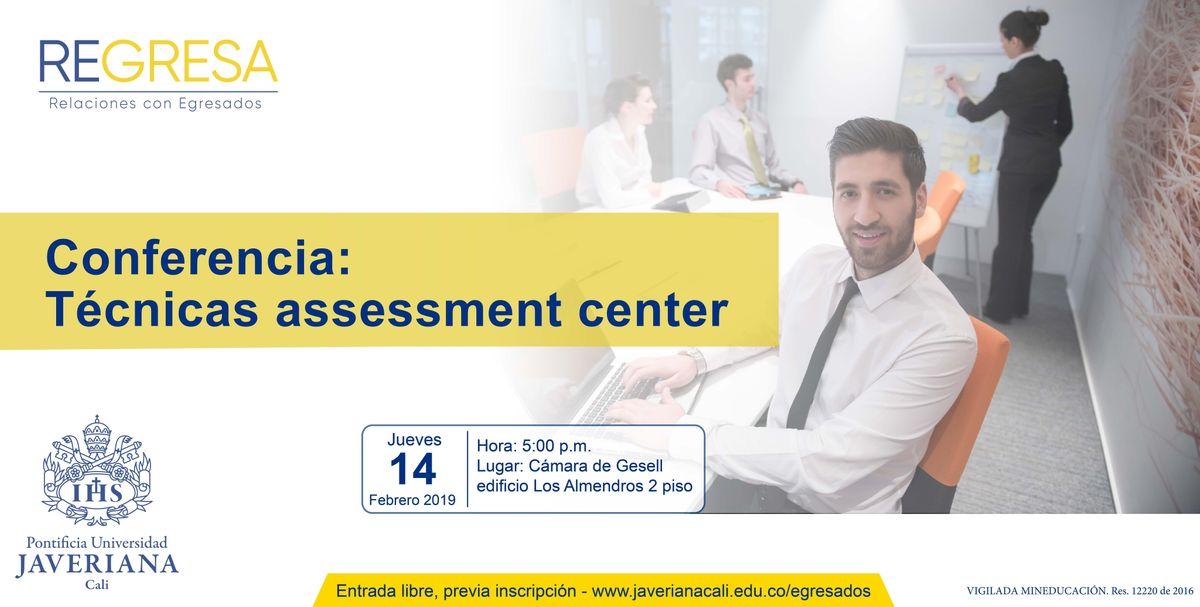 Conferencia Tcnicas assessment center