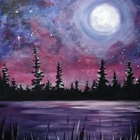 Paint Nite- Galaxy Lake