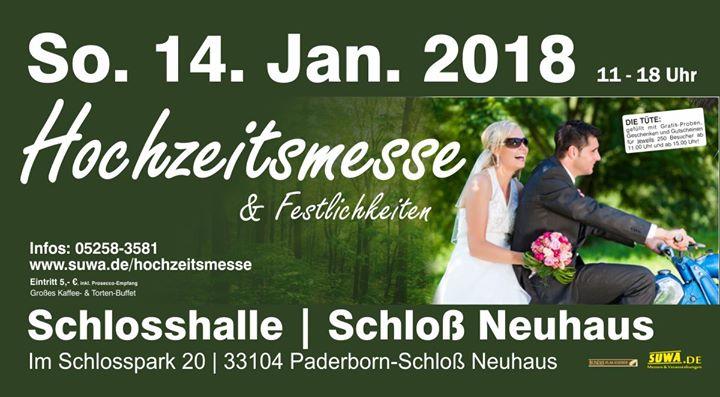 Hochzeitsmesse Schlo Neuhaus 14.01.2018