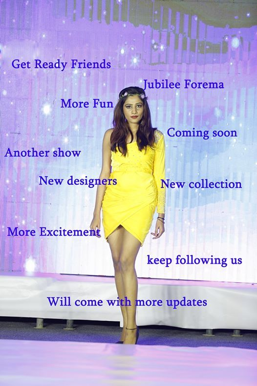 Fashion Show Jubilee Forema At Jubilee Institute Of Fashion Design Hyderabad
