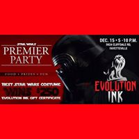 Star Wars Premier Party