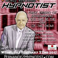 Fernandez The Hypnotist Comedy show at The Asylum