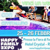 Vinci un weekend all Hotel Crystal Rimini allHappy Family Expo