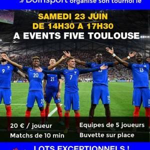 Tournoi de Foot 5 Doinsport - Events five toulouse