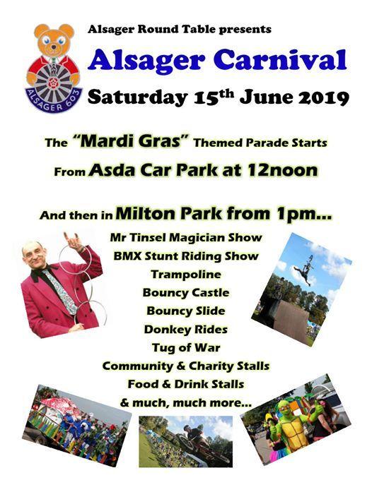 Alsager Carnival 2019