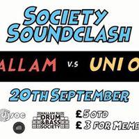 Society Soundclash Freshers Special