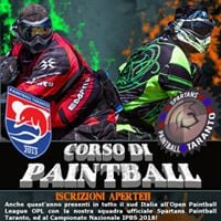 Corso Di Paintball 2018 - Openday