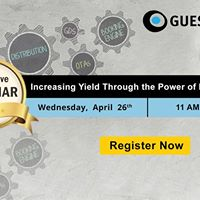 Webinar Increasing Yield Through the power of Direct Bookings