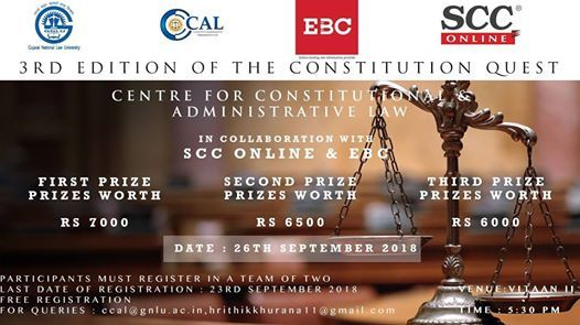 3rd edition of The Constitutional Quest Quiz Competition