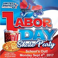 Labor Day Family Skate Party