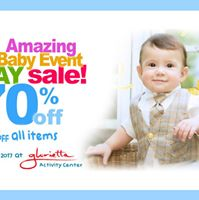 Enfant Amazing Baby Event 3-day Sale