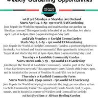 Garfield Community Farm Volunteering