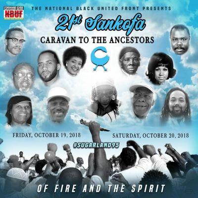 21st Annual Sankofa Caravan to the Ancestors Weekend