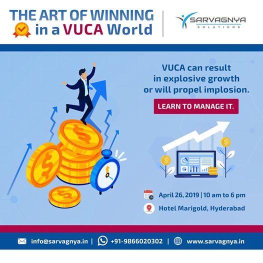 The Art of Winning in a VUCA World workshop