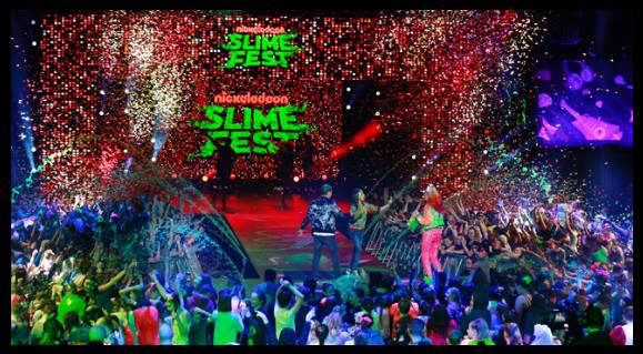 Nickelodeon Slimefest 2018