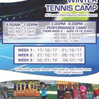 Winter Tennis Camps