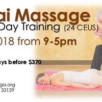 3 Day Vedic Thai Massage Certification