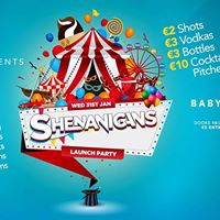 Shenanigans Launch Party at Babylon Late Bar Swords