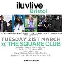 Iluvlive Bristol The Square Club 23.5.17