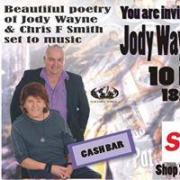 Book evening with Jody Wayne &amp Chris F Smith