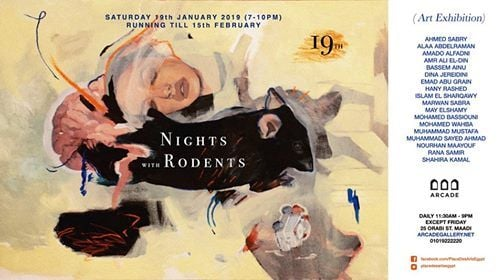 Nights with Rodents art exhibition