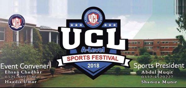 University College Lahore A-level Sportsfest18