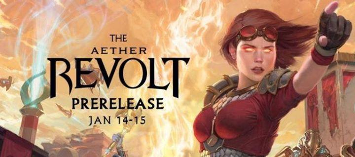 MTG Aether Revolt Pre Release Weekend