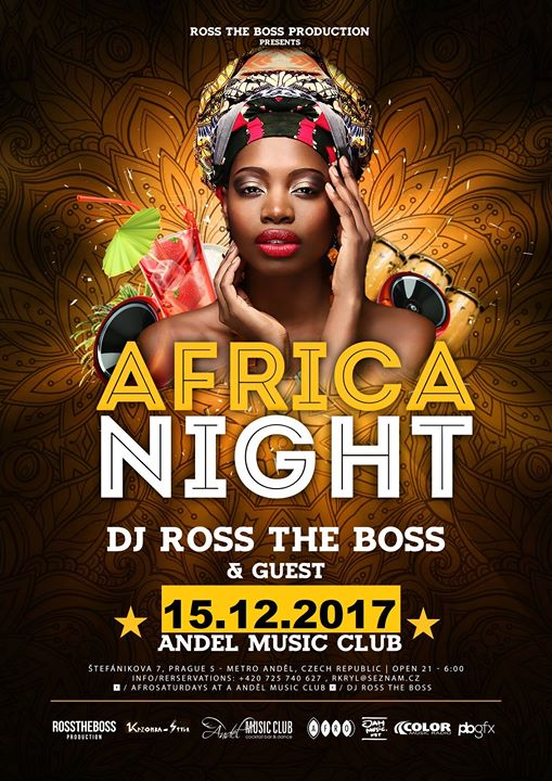 Africa Night DJ Ross the Boss