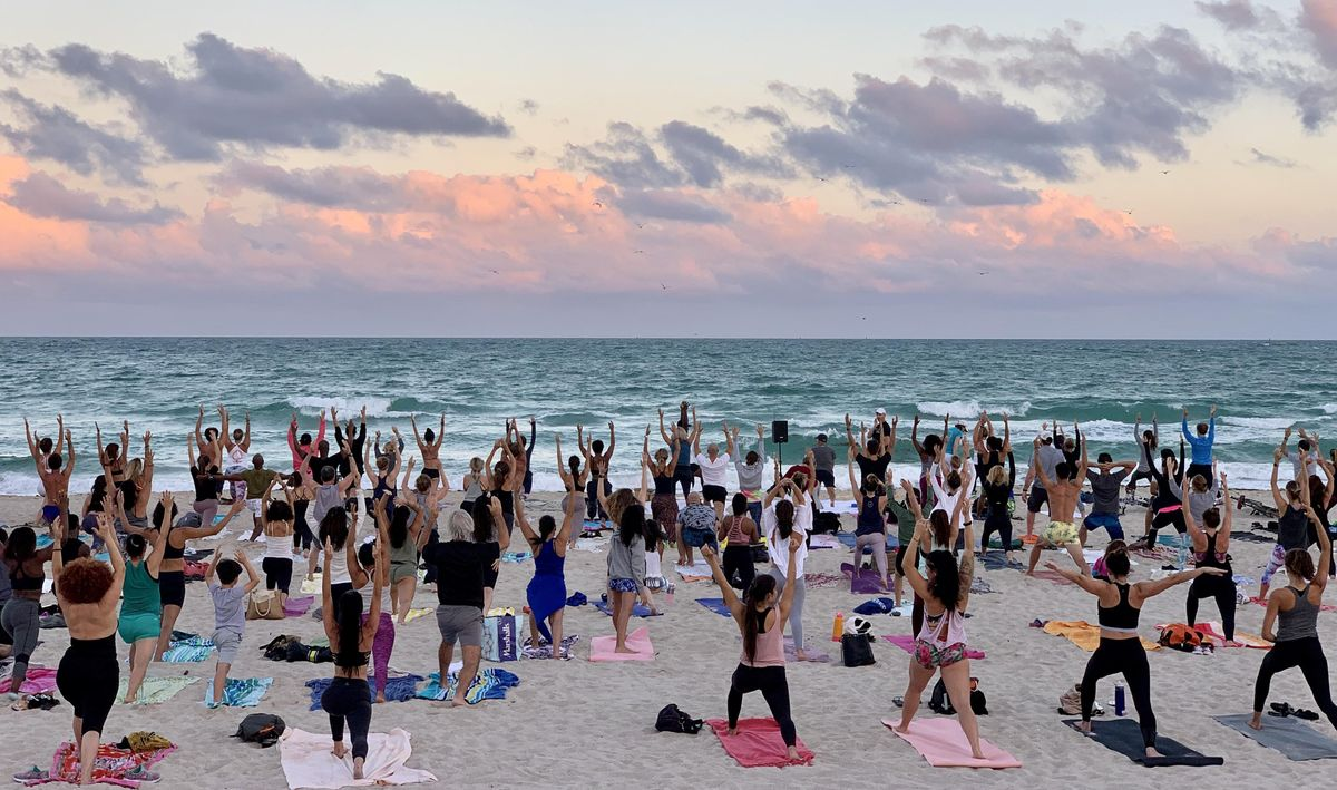 Image result for Moonlight Yoga by Equinox South Beach