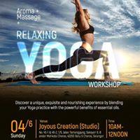 Aroma.massage.relaxing YOGA