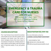 Emergency &amp Trauma Care for Nurses