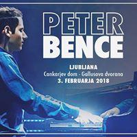 Peter Bence  Ljubljana Cankarjev dom  03.02.2018  SOLD OUT