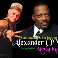Alexander O Neal with Alecia Karr supporting.