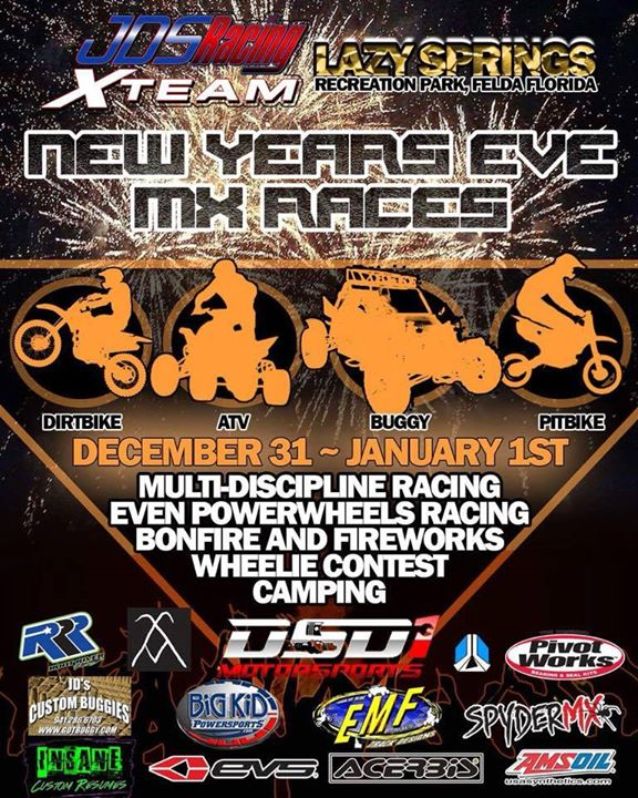 Lehigh Acres New Years Eve Mx Races And Fireworks