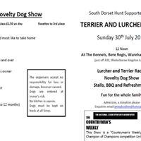 Terrier Lurcher &amp Novelty Dog Show