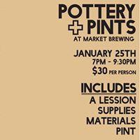 Pottery &amp Pints