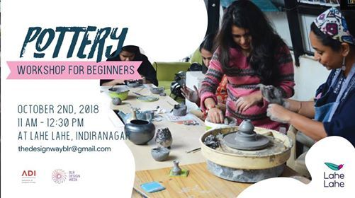 Pottery Workshop - BDW 2018