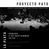 Proyecto PATO presenta su disco en La PLATA
