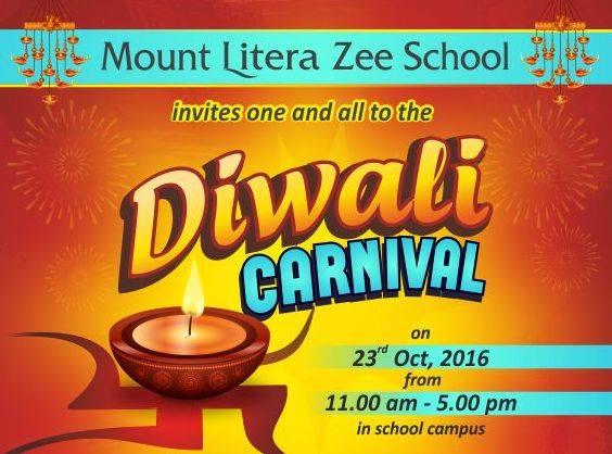 Diwali Carnival At Mount Litera Zee School Agra Agra