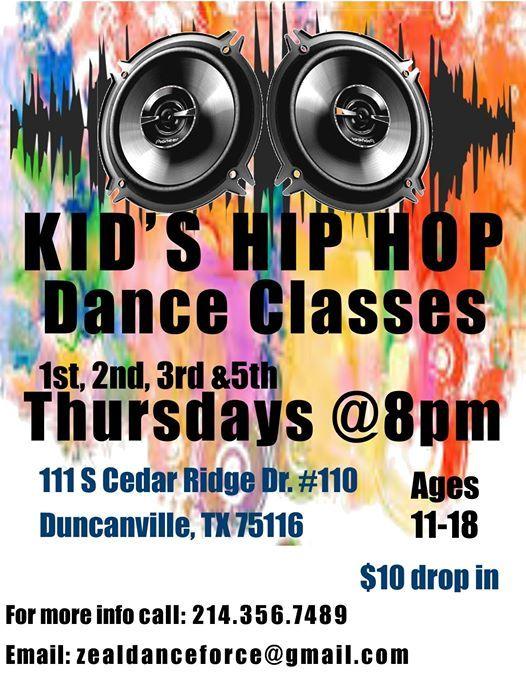 Kids Hip Hop Dance Classes