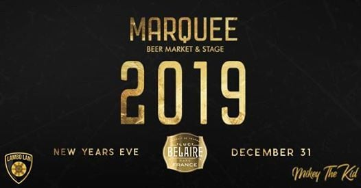 NYE 2019 - Marquee & Luc Belaire