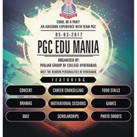 PGC Education Mania 2017