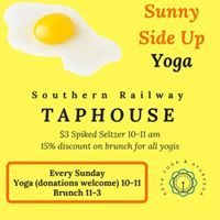 Sunny Side Up Yoga &amp Spiked Seltzer
