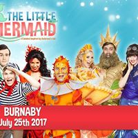The Little Mermaid will be on Burnaby