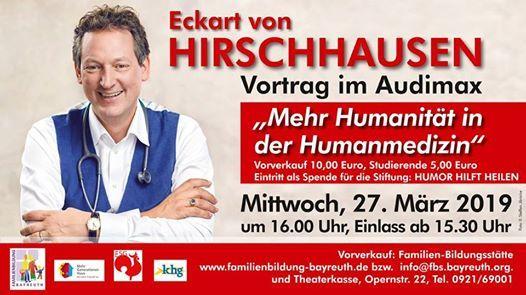 Vortrag Audimax Uni Mehr Humanitt in der Humanmedizin